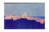 Castle on the Reef, 1927 Giclee-trykk av Paul Klee