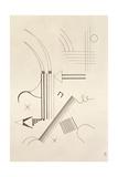 Drawing, 1933 Giclée-vedos tekijänä Wassily Kandinsky