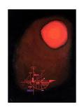 One Spit, 1925 Gicléedruk van Wassily Kandinsky