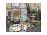 Still Life with Gingerpot 1, 1911 Lámina giclée por Piet Mondrian