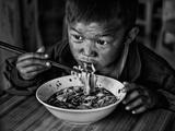 Spicy Noodle Fotografisk trykk av Bj Yang