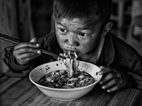Spicy Noodle Photographic Print by Bj Yang