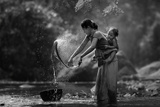 Laundry Photographic Print by  Asit