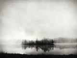 Isle of Silence Toile tendue sur châssis par Franz Bogner