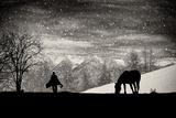 It's Time to Go Fotografie-Druck von Vito Guarino