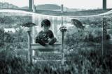 Water Playground Fotografie-Druck von Dimas Awang