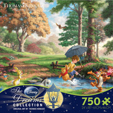Thomas Kinkaid Disney Dreams - Winnie the Pooh 750 Piece Jigsaw Puzzle Jigsaw Puzzle
