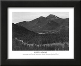 Rocky Mountain National Park Art by Ansel Adams