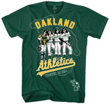 MLB/Kiss-Kiss/Athletics Dressed T-Shirt