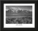 Grand Teton National Park Poster by Ansel Adams
