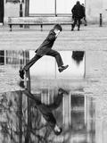 Jump Impressão fotográfica por Karl Wood