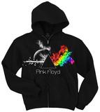 Pink Floyd-Any Colour Zip Hoodie Sweat à capuche avec fermeture à glissière