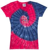 Ladies: MLB-Cards Spiral V-Neck Damen-T-Shirts mit V-Ausschnitt