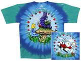 Fantasy-Alice & Caterpillar T-skjorte