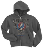 Grateful Dead-Amer Music Hall Zip Hoodie Vetoketjuhuppari