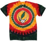 Grateful Dead-Rasta Syf Tie Dye T-Shirts
