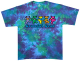 Grateful Dead-Dancing Bear Tie Dye Shirt
