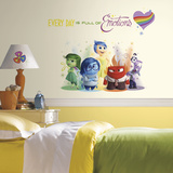 Inside Out Burst Peel and Stick Giant Wall Decals Veggoverføringsbilde