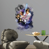 Star Wars Classic Mega Peel and Stick Giant Wall Decals Adesivo de parede