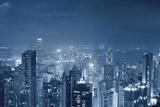 Hong Kong Panorama. Fotografisk trykk av  rudi1976