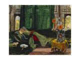 The Siesta Giclee Print by John Frederick Lewis