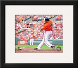 Chris Davis 2013 Action Framed Photographic Print