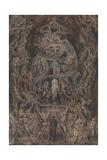 Epitome of James Hervey's Meditations Among the Tombs Lámina giclée por William Blake