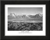 Mt Moran Grand Teton Prints by Ansel Adams