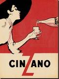 Cinzano Trykk på strukket lerret