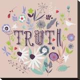 Wahrheit Bedruckte aufgespannte Leinwand von Ken Hurd