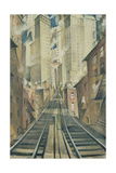 The Soul of the Soulless City (New York - an Abstraction) Giclee Print by Christopher Richard Wynne Nevinson
