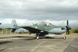 Brazilian Air Force A-29B Super Tucano at Natal Air Force Base, Brazil Photographic Print by Stocktrek Images
