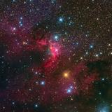 The Cave Nebula Fotografie-Druck von Stocktrek Images