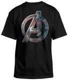 Avengers- Ultron Logo Tシャツ