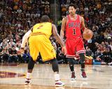 Chicago Bulls v Cleveland Cavaliers - Game Five Photographie par Nathaniel S Butler