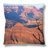 Grand Canyon from South Rim Near Yavapai Point, Grand Canyon National Park, Arizona Throw Pillow by David Tomlinson