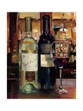 A Reflection of Wine II Kunstdruck von Marilyn Hageman
