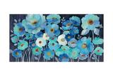 Indigo Flowers Kunst von Silvia Vassileva