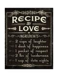Life Recipes I Kunstdrucke von Jess Aiken