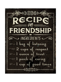 Life Recipes III Kunstdrucke von Jess Aiken