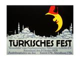 Turkish Festival Giclée-tryk af Julius Klinger
