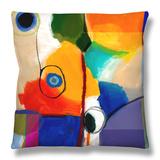 Amusement VI Throw Pillow by Sisa Jasper