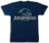 JURASSIC WORLD LOGO Bluser