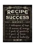 Life Recipes II Kunstdruck von Jess Aiken