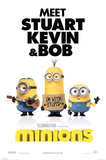 Minions (I'm With Stupid) Posters