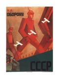 In Defense of the U.S.S.R. Giclee Print by Valentina Nikiforovna Kulagina