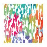 Splashes of Color III Premium Giclée-tryk af Hugo Wild