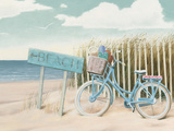Beach Cruiser II Crop Kunstdruck von James Wiens