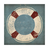 Nautical Buoy Blue Metal Print by Ryan Fowler