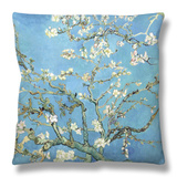 Almond Branches in Bloom, San Remy, c.1890 Throw Pillow by Vincent van Gogh